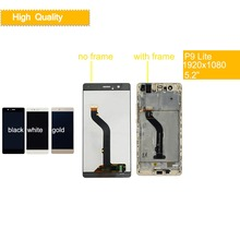 10Pcs/lot For Huawei P9 Lite VNS-L21 VNS-L22 VNS-L23 VNS-L31 VNS-L53 LCD Display Touch screen Digitizer Assembly With Frame все цены