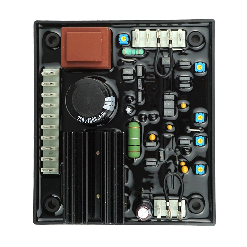R438 Avr 95-480V Automatic Voltage Regulator Module For Brushless Generator Compatible With Arep/Pmg Excitation SystemR438 Avr 95-480V Automatic Voltage Regulator Module For Brushless Generator Compatible With Arep/Pmg Excitation System