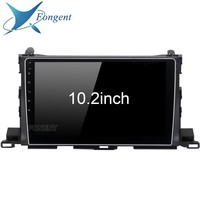 2 din Car Radio GPS Android 8.0 For Toyota Highlander 2015 2016 2017 Highlander Car Radio GPS Navigation PX5 4Gb+32G Octa Core