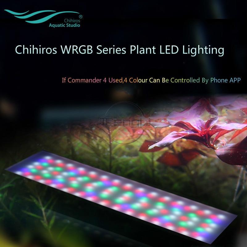 Chihiros WRGB LED Light Lighting APP Aquatic Plant Lamp With 4-Channel Magic Controller Commander Sunrise Sunset Aquarium Smart
