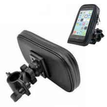 Bike Phone Holder Waterproof Bicycle Mobile Stand Motorcycle Handlebar Mount Bag S M L XL Size