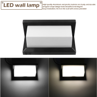 15W LED Outdoor Wall Light Modern Lamp Wall Mounted AC 85 265V Waterproof Outdoor Lighting For Garden Home Buitenverlichting