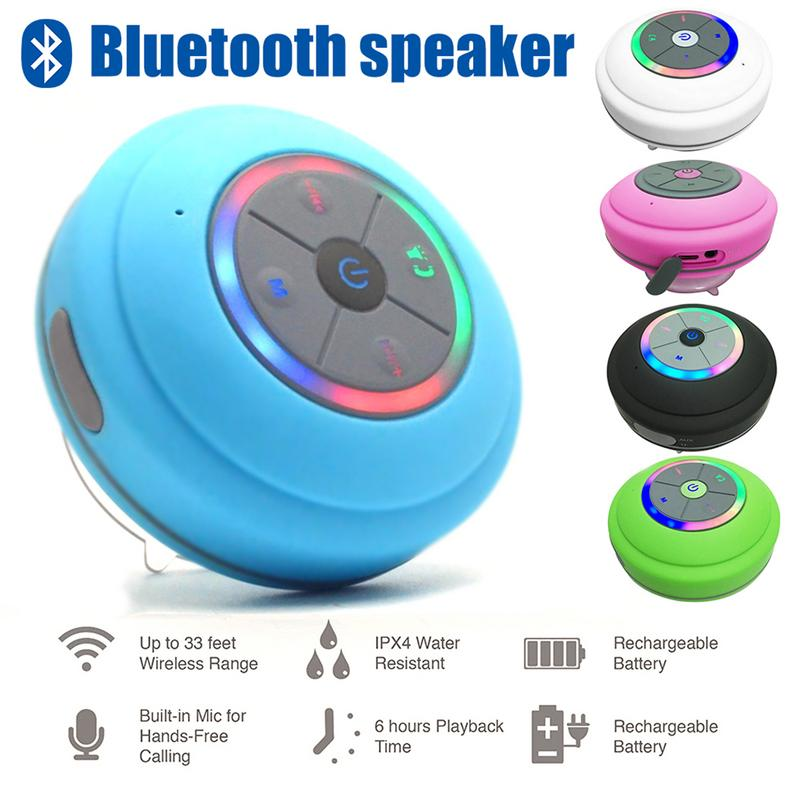 Image 5 - Portable Speaker Waterproof Wireless Bluetooth Player Stereo Hd Hifi Sounds Surrounding Devices With Mic Hands free Calling-in Subwoofer from Consumer Electronics
