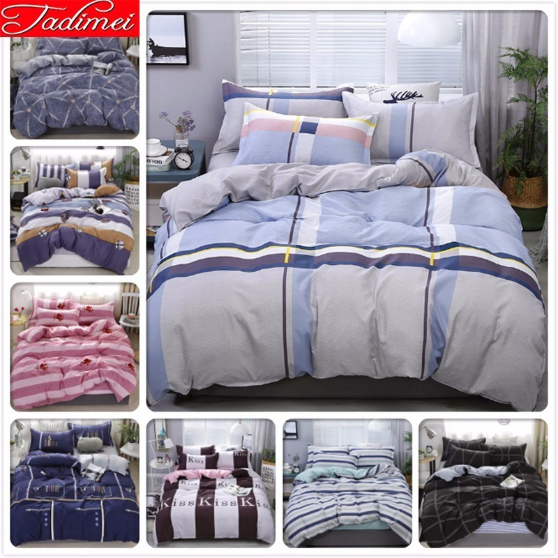 New Fashion Bedding Set Adult Kids Soft Cotton Bed Linen Single Twin Full Queen King Size Duvet Cover Bedspreads 180x220 220x240New Fashion Bedding Set Adult Kids Soft Cotton Bed Linen Single Twin Full Queen King Size Duvet Cover Bedspreads 180x220 220x240