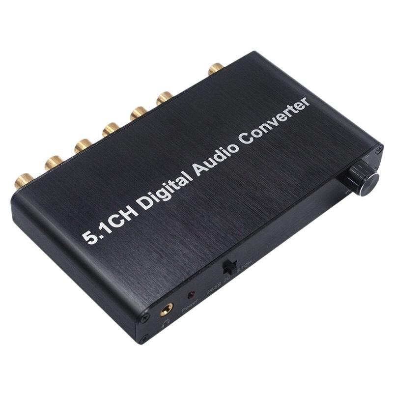 5.1ch цифровой аудио конвертер DTS / AC3 Dolby декодирование SPDIF вход до 5,1