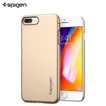 Защитный чехол Spigen для iPhone 8 Plus Thin Fit цвет золотой/055CS22239/100