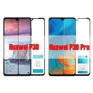 Image 2 - for Huawei P30 XD Tempered Glass for Huawei P30 Pro 3D Tempered Glass Nillkin CP+ Max Full Cover Screen Protector
