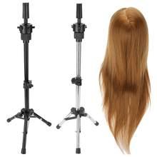 Ayarlanabilir kuaför Tripod standı tutucu manken kafa Tripod kuaför eğitim peruk kafa tutucu saç peruk standı aracı Salon