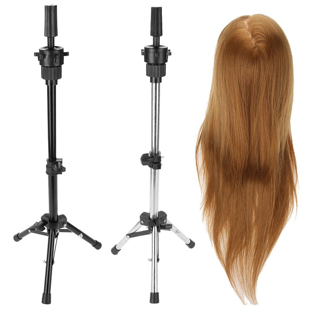 Einstellbare Friseur Stativ Halter Mannequin Kopf Stativ Friseur Ausbildung Perücke Kopf Halter Haar Perücke Ständer Werkzeug Salon