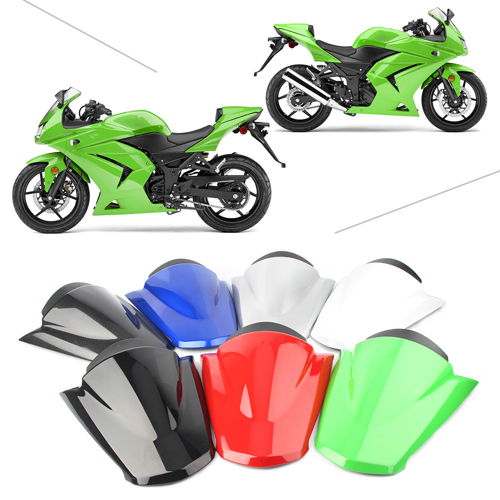 Motorcycle Rear Pillion Passenger Cowl Seat Back Cover Fairing Part For Kawasaki Ninja ZX250R 2008 2009 2010 2011 2012
