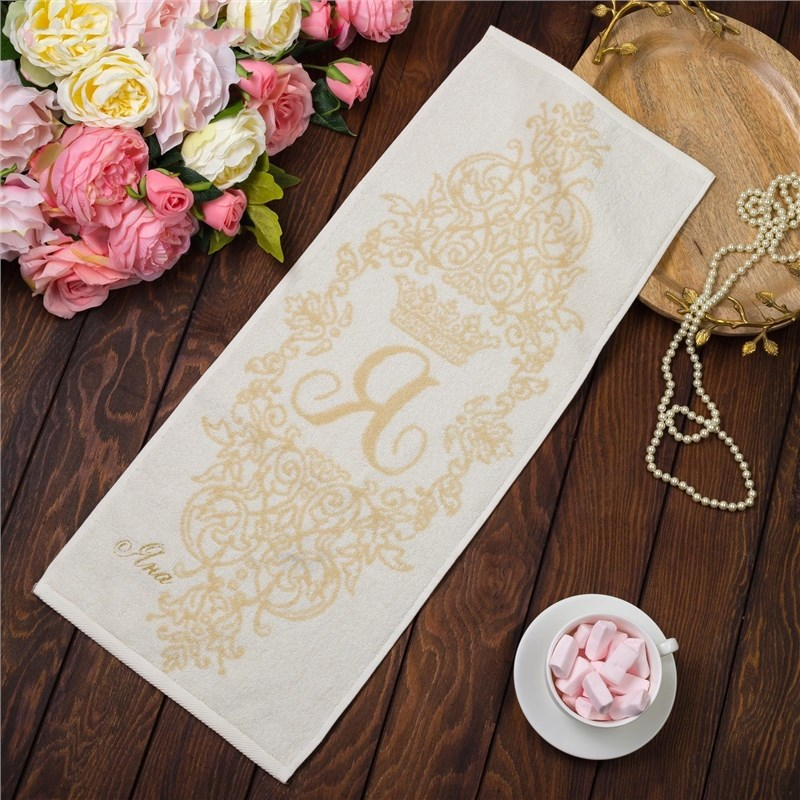 Фото - Towel именное Terry embroidery Яна 30х70 cm 100% cotton, 420гр/м13 4072519 young time travel portable thickening cotton compressed towel white l