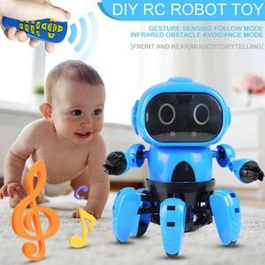 Intelligent RC Robot Toy DIY A