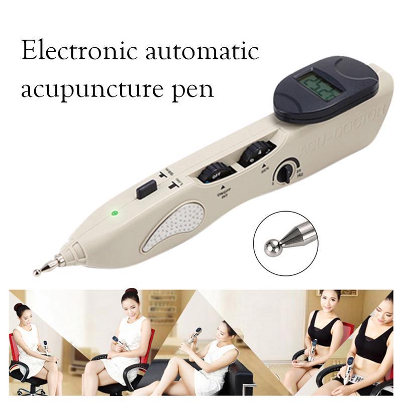 Stylo méridien soins de santé Acupuncture sonde de Massage électronique détecteur d'acupuncture Massage thérapie de la douleur Acupuncture électrique