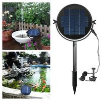 Adeeing New Arrival Solar Water Fountain Brushless Submersible Water Pump Bird Bath 2019 New