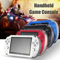 8GB 4.3 Inch Built In 2000 Games Portable Handheld Video Game Console Player USB Chargingcable MP5 Player