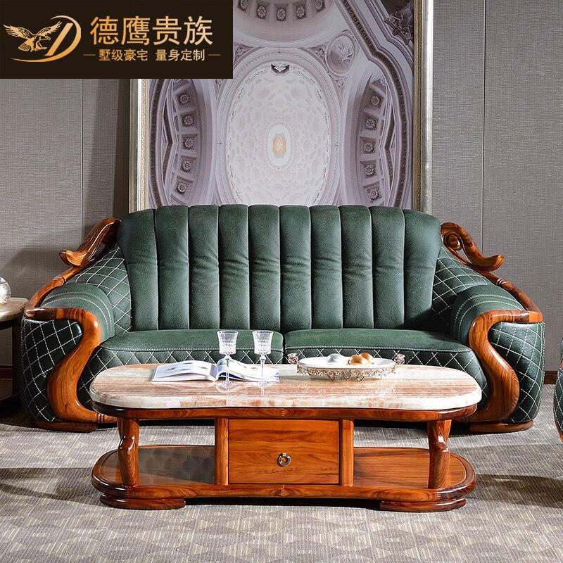 Living Room Genuine Leather Sofa Bed Divano Futon Sofas