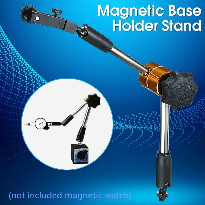 Disque Indicador de Teste Universal Estável Magnetic Titular Base do Suporte de Metal Flexível Calibre Caliper Ferramentas De Medição