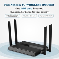 YYWIFI 4G LTE Wifi Router,300Mbps 3G/4G Wireless CPE Router with sim card slot Support 4G to LAN Device With 4pcs External Anten