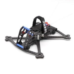 Image 1 - HSKRC Acrobrat 163 163mm 3 inç Mini drone iskeleti kiti desteği 3030 3045 pervane/Runcam bölünmüş Mini kamera