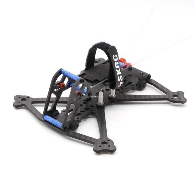 HSKRC Acrobrat 163 163mm 3 inç Mini drone iskeleti kiti desteği 3030 3045 pervane/Runcam bölünmüş Mini kamera