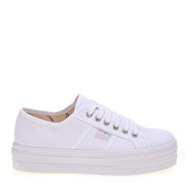 94245ca5979 VICTORIA ZAPATILLAS VICTORIA BLANCO Raso Plataforma Mujer-ZAPATILLAS  blancas Mujer Zapatos Casual moda 53588