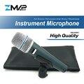 Высокое качество версия супер-кардиоидный Бета 57 профессиональный инструмент микрофон 57A барабаны перкуссия динамический микрофон