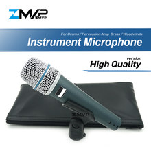 High Quality Version Super-cardioid B 57 A Professional Instrument Microphone 57A Drums Percussion Dynamic Microfone Mike Mic(China)