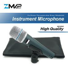 High Quality BETA57A Professional Super-Cardioid Dynamic Instrument BETA Wired Microphone 57A For Performance Drums  Percussion