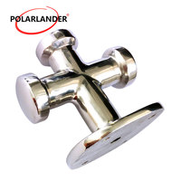 1 Pc Stainless Steel Single Cross Bollard Heavy Duty Cleat Hardware for Boat Yacht Marine|Marine Hardware|   -
