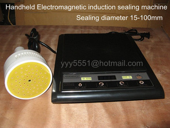 20-100MM Portable Electromagnetic Glass Jar Induction Aluminium Foil Sealing Machine  Induction Cap Sealer 500E