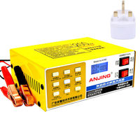 250V 12V/24V 200 AH Full Automatic Intelligent Car Battery Charger Pulse Repair