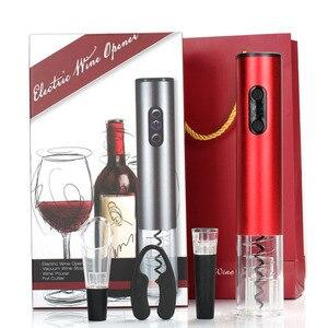 Image 2 - Best Electric Bottle Opener Set Home Wine Bottle Opener Four Set Wine Opener(Battery Models)