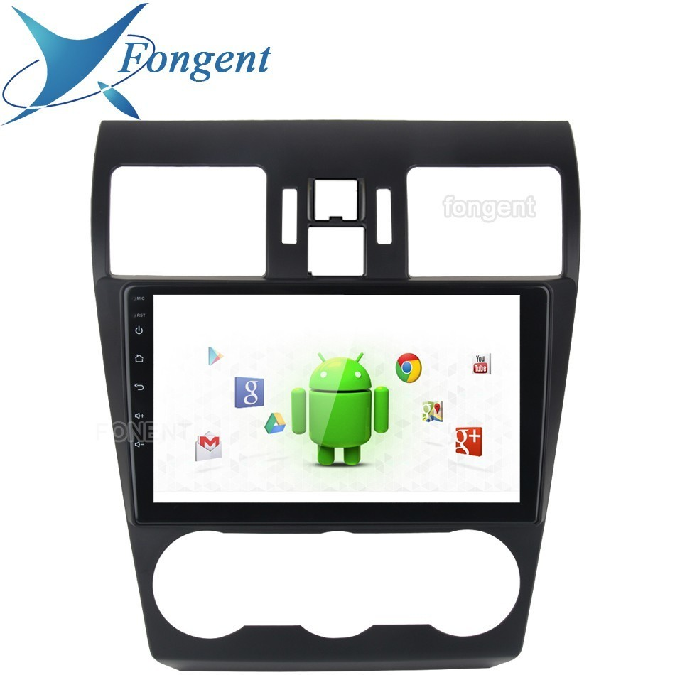 1Din 9inch Car Android 9.0 Radio Video GPS Multimedia Player For Subaru WRX 2013 2014 2015 4G+64G Octa Core Navigation Fast Boot