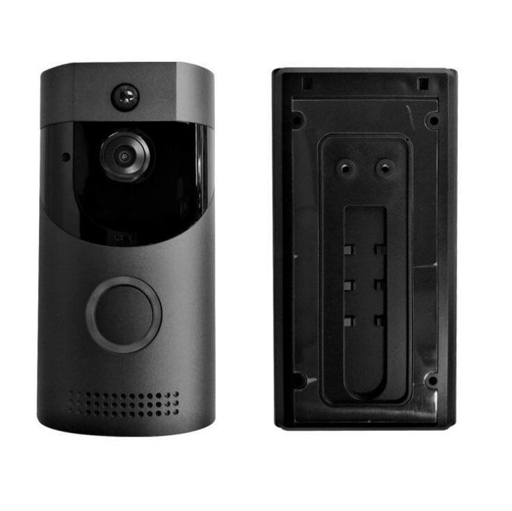 Black/White Wireless Wifi Intercom Doorbell Infrared Night-Vision Smart Video Door Chime Monitor CameraBlack/White Wireless Wifi Intercom Doorbell Infrared Night-Vision Smart Video Door Chime Monitor Camera