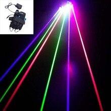 Новое поступление, лазерные перчатки RGB с 7 шт. лазерными 2 шт. зелеными+ 3 шт. красными+ 2 шт. фиолетовыми сценическими перчатками для DJ клубных, вечерние, шоу
