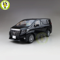 1/18 Toyota ALPHARD MPV Diecast Model CAR Toys kids Boy Girl Gift Collection Black