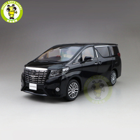 1/18 Toyota ALPHARD MPV литой модельный автомобиль игрушки Дети подарок для мальчика девочки коллекция черный