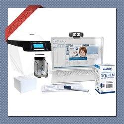 Dwustronna drukarka kart Magicard Rio Pro360 wykorzystuje taśmę YMCKO MA300