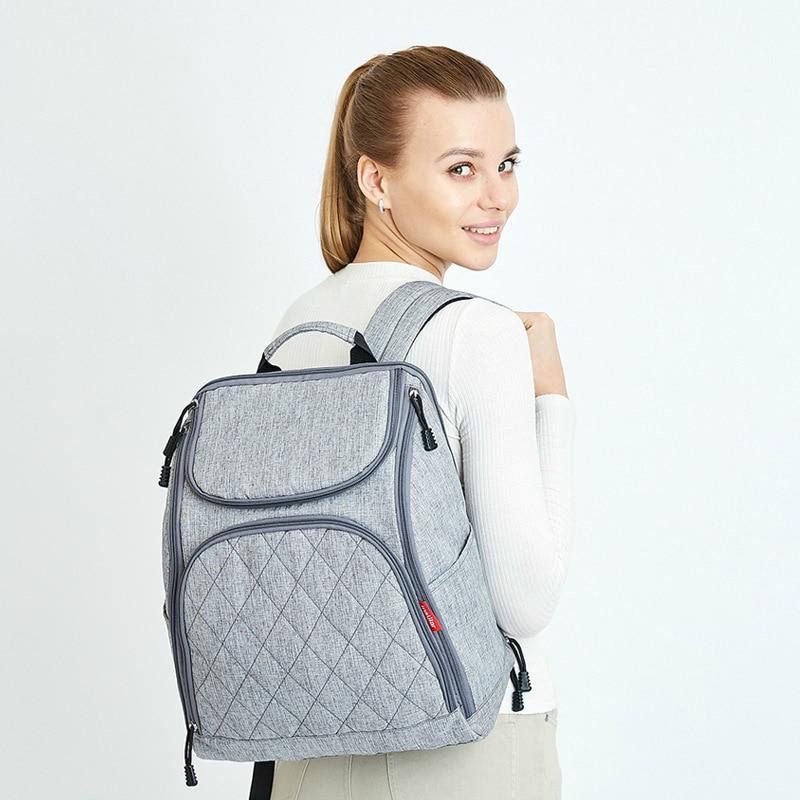 Sac à couches bébé grande capacité sac momie maman sac à dos de voyage Designer sac de maternité couche-culotte d'allaitement Mochila Maternidade Wetbag