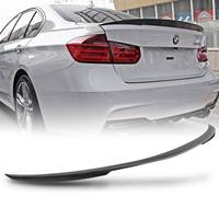 Rear Trunk Matte Black ABS Spoiler Wing for BMW 3 Series F30 4 Door Sedan 2012 2017 Performance ABS Car Rear Wing