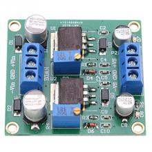 LM317/337 Positive and Negative Voltage Stabilizing Power Module Low Ripple Linear voltage regulator High Quality negative power supply module positive voltage to negative voltage 5v 12v output negative voltage conversion module 20mv low ripp