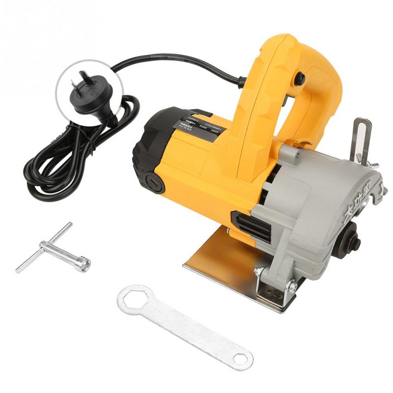 220V Household High Power Cutting Machine Slotting Grooving Electric Saw for Wood Marble Tile Circular Saw