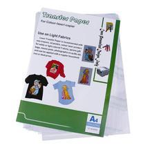 ALLOYSEED 10 шт. Лазерная теплообменная бумага самопрополка бумага для футболок фартуки сумки