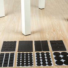 Adhesive Rubber Anti-Skid Scratch DIY Resistant Furniture Feet Floor Protector Pads Table Legs Stools Chairs Protection Mats