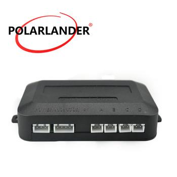 Najlepsza cena sprzedaży samochodów czujniki parkowania 4 czujniki główne box czujnik pomocniczy cofania 12 V akcesoriów radarowych tanie i dobre opinie PolarLander Niewidoczne RADAR-4ZJR10 Plastic 0~2 5m(detection distance) Angielski