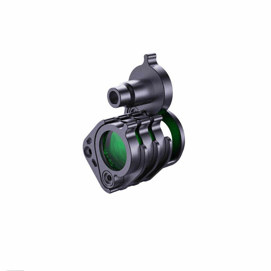 NiteScuba ダイビングストロボライト Weefine WF069 スマート鼻であしらう (フォーカス 1000 + WFA61 + WFA62) 懐中電灯水中撮影用アクセサリー