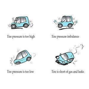 Image 5 - LED الخلفية عجلة الاطارات الإطارات ضغط الهواء آلة لقياس السيارات الرقمية متر أداة سيارة دراجة نارية سيارة 3 100 PSI KPA بار
