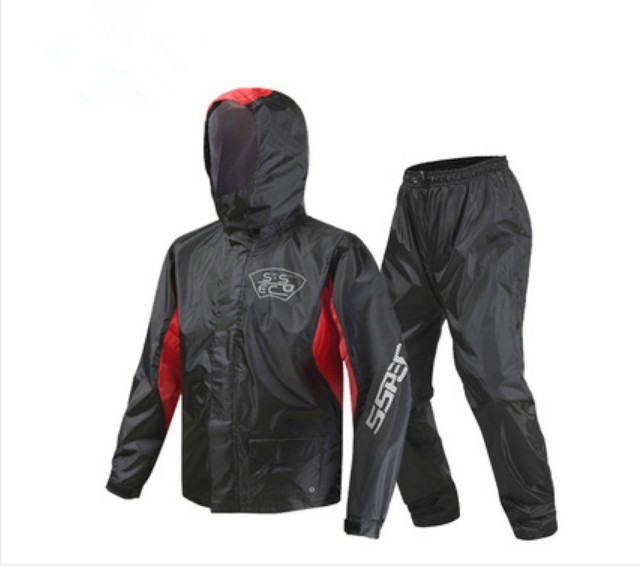 2018 nouveauté Moto équitation imperméable Moto pantalon de pluie costume adulte Split extérieur respirant étanche à la pluie SCJ-605 livraison gratuite - 4
