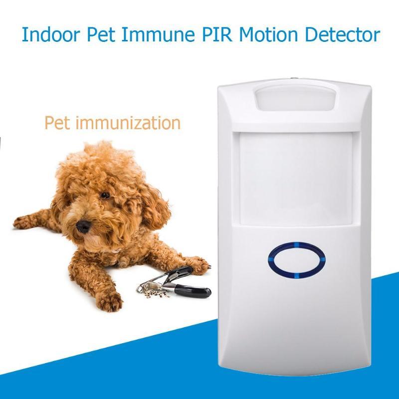 Wireless 433MHZ PIR Alarm Sensor Pet-friendly Pet Immune Motion IR PIR Sensor Infrared Detector For Home Security Alarm System