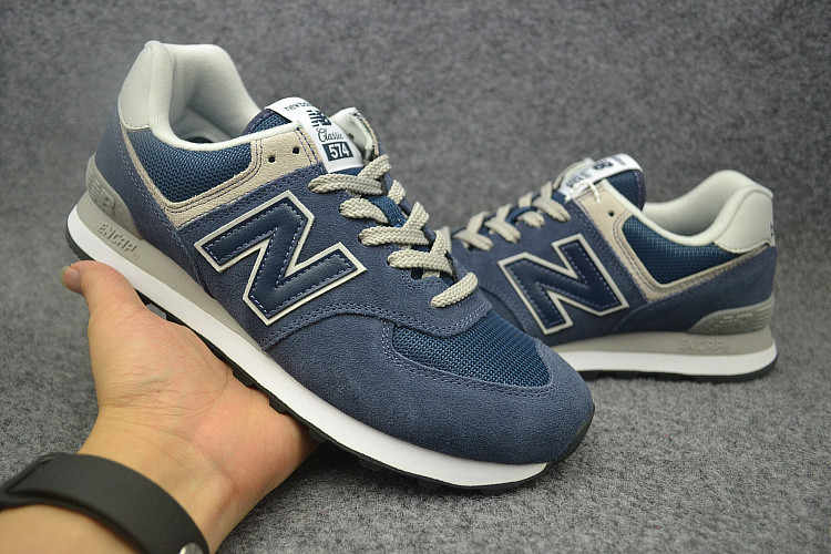 official photos 6e0e5 ac852 New Balance 574 NB574 classic running shoes men women sport shoes  Retro-fashioned casual shoes 36-44